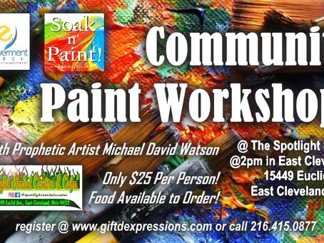 Community Paint Event!