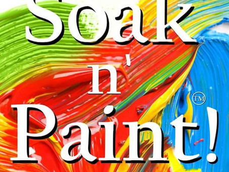 *New* Soak N' Paint - Prophetic Art Experience!
