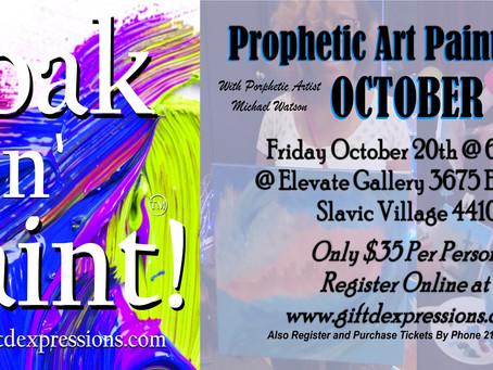 Register for Soak N' Paint October!