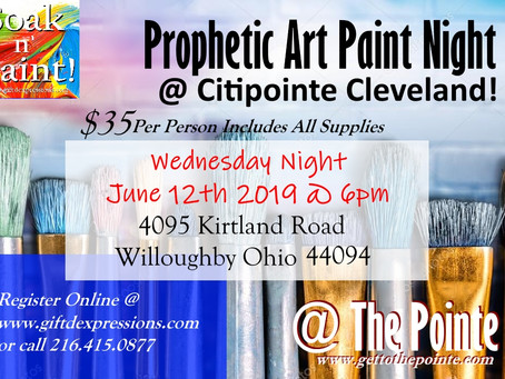 Soak n' Paint @ Citipointe Church!
