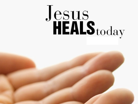 There is Healing for You Today!