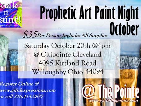 NEXT SATURDAY! Soak N' Paint! @ Citipointe Willoughby Ohio