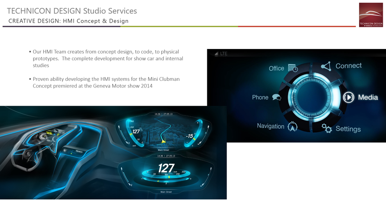 TD Studio Services - HMI Concept & Desig