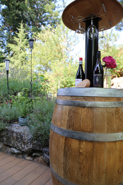 Wine Barrel Right Side 8252