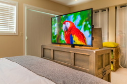 Foot of the Bed TV Lift Cabinet