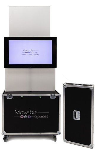 The X1Mobil is a mobile TV unit for any and all display needs. Made with the best availabl TV Lifts in Canada.