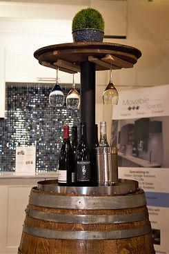 Hidden Wine Barrel Bar Canada