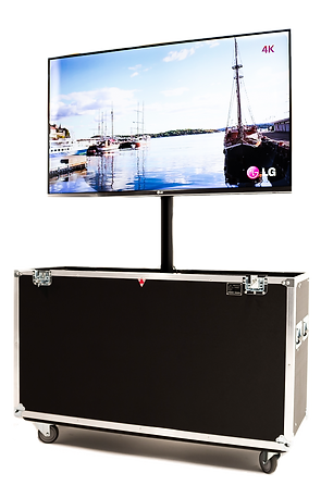 X1Mobil mobile display system for AV, events, or tradeshows
