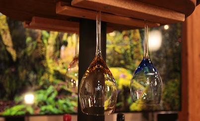 Hidden Bar Wine Glasses