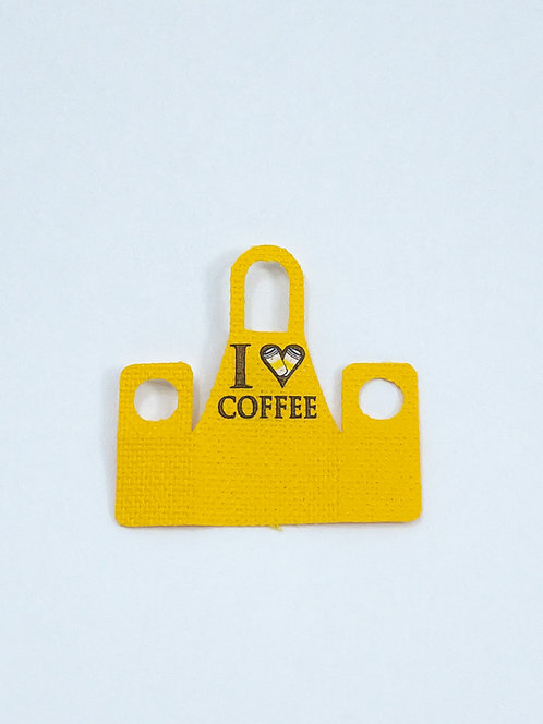 """Coffee shop apron - """"Sheen"""""""