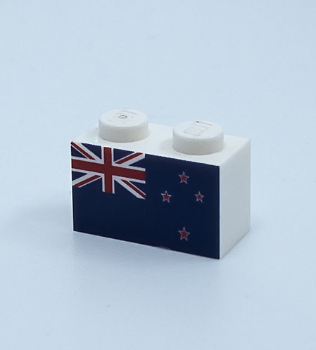 Flag of New Zealand - printed brick