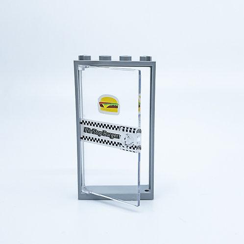 Burger shop door - custom model
