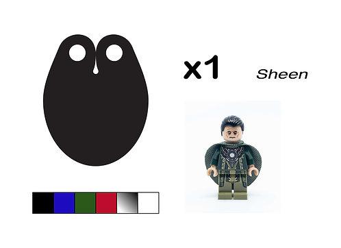 """Oval Cape - """"Sheen"""""""