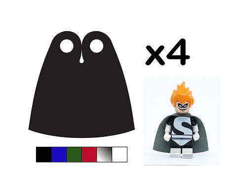 """Pack of 4 Classic Capes - """"Sheen"""""""