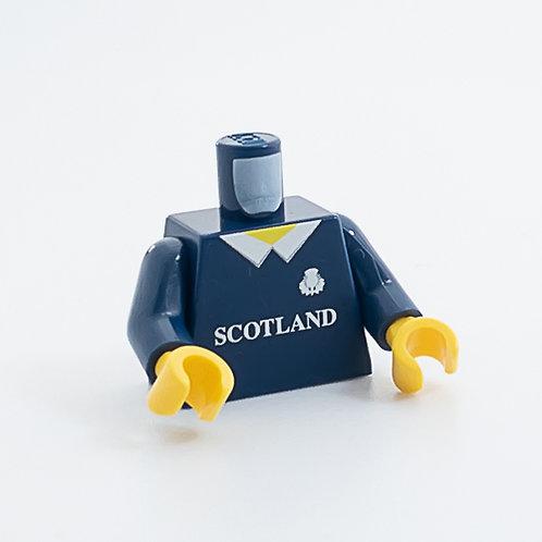 Scotland rugby shirt torso