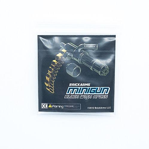 Minigun Black and Brass