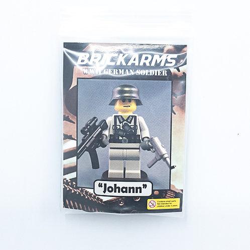 """WWII German Soldier """"Johann"""""""