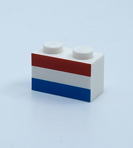 Flag of Netherlands - printed brick