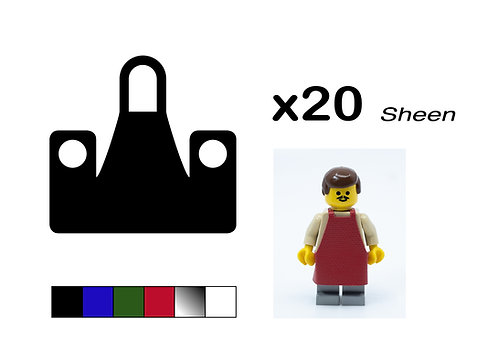 """Pack of 20 Aprons - """"Sheen"""""""