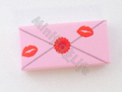 Valentine letter  - printed tile