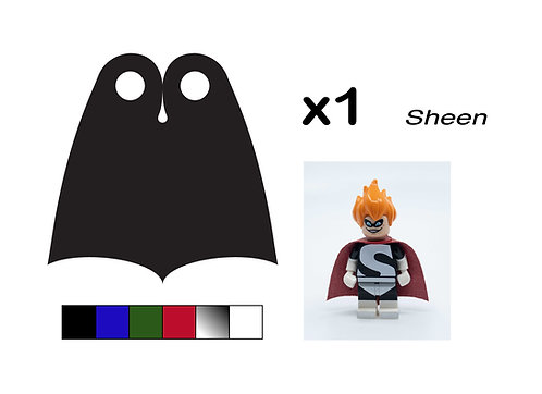 """Pointed Cape - """"Sheen"""""""