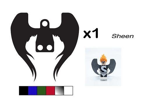 """Angel Wings - """"Sheen"""""""
