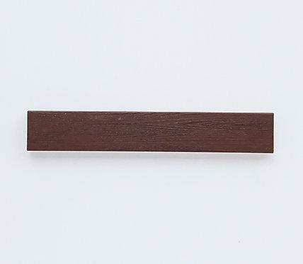 Wood grain tile (reddish brown) - printed tile