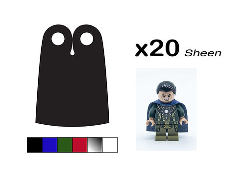 """Pack of 20 Narrow Capes - """"Sheen"""""""