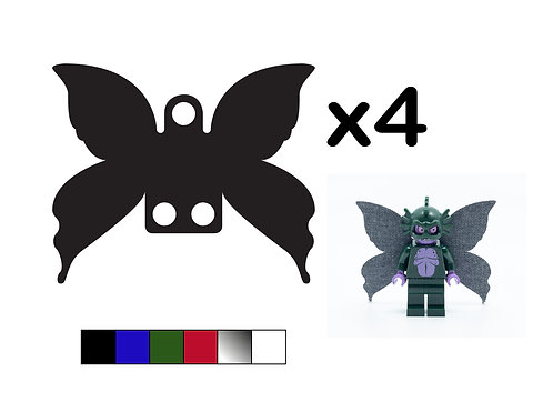 Pack of 4 Fairy Wings - DURABLE