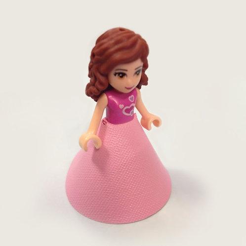 Mini doll Gown