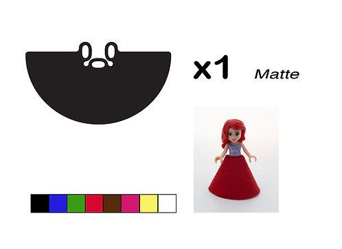 "Mini-doll Gown - ""Matte"""