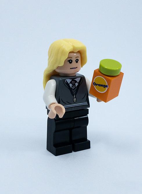 Orange juice  - printed brick