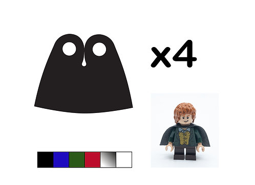 Pack of 4 Short Capes - DURABLE