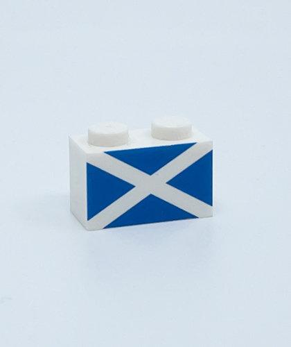 Flag of Scotland - printed brick