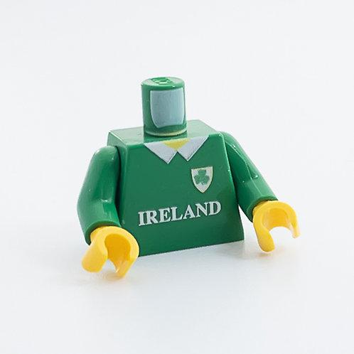 Ireland rugby shirt torso