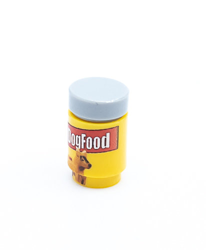 Dog Food Printed round brick