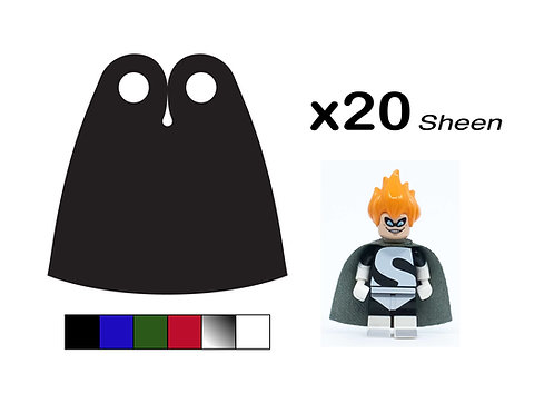 """Pack of 20 Classic Capes - """"Sheen"""""""