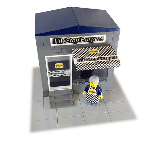 Burger restaurant - custom bricks pack