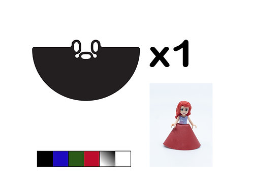Mini doll Gown - DURABLE