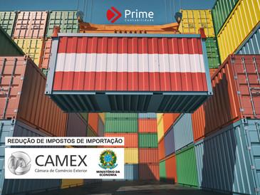 Camex: comitê reduz Imposto de Importação para manter abastecimento no Brasil