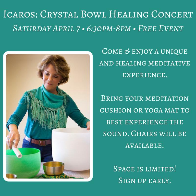 Icaros: Crystal Bowl Healing Concert