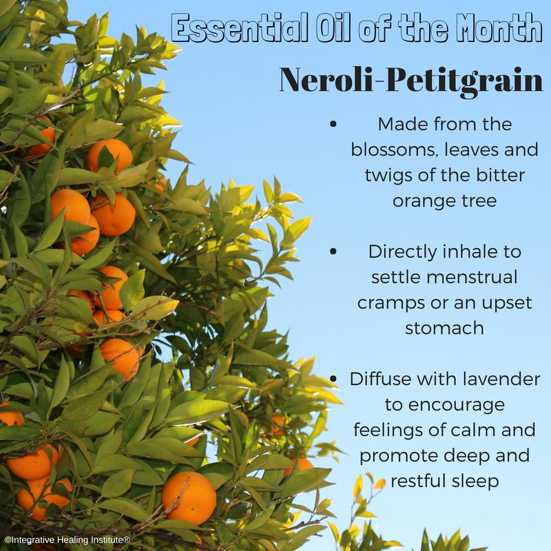 essential oil of the month, neroli essential oil