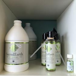 Sacred Earth Organic Massage Oil