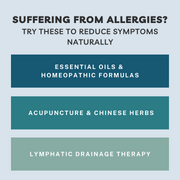 Suffering from Allergies? Here are a few natural remedies to try