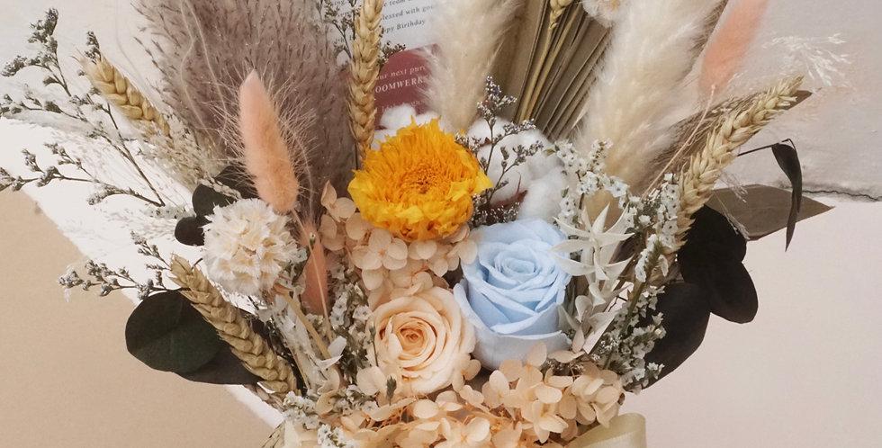 Bundle of Joy Flower Basket