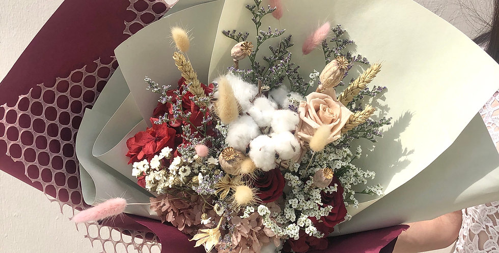 Everlasting Rustic Preserved Bouquet