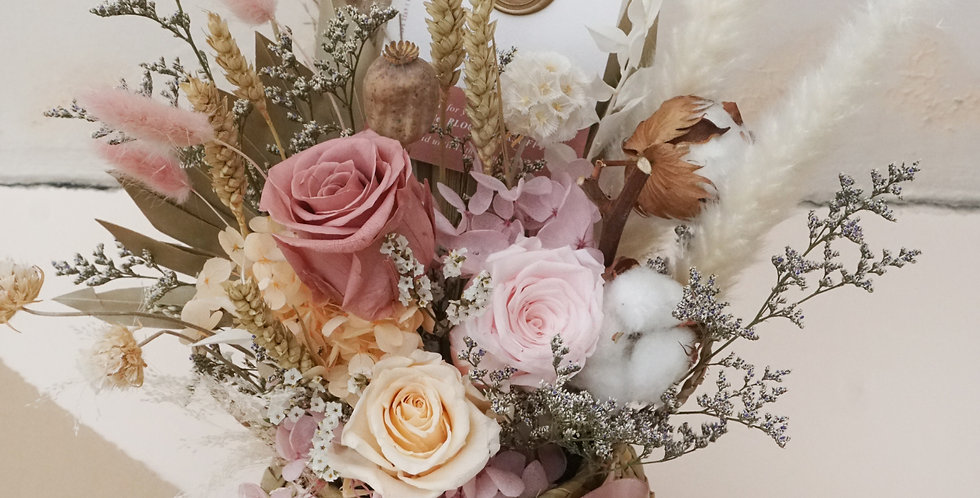 Whimsical Flower Basket