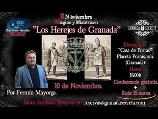 """Fermín Mayorga, """"Los Herejes de Granada"""""""