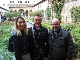 Visitamos la Alhambra en compañía de Mariano Fernández Urresti