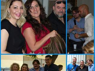 Equipo Raudive visitó Málaga